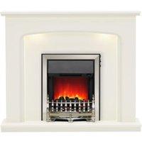 Be Modern Ellison Black LED Electric fire suite