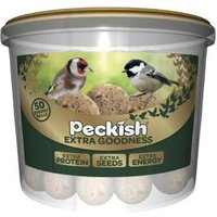 Peckish Extra goodness Suet balls 4000g Pack of 50