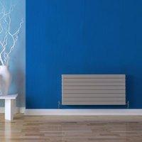 Seren Égalrad Type 21 double plus Designer panel radiator Matt silver  (H)578mm (W)800mm