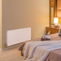 Barlo Compact Type 22 Panel radiator White  (H)600mm (W)800mm