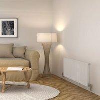 Barlo Compact Type 11 Panel radiator White  (H)600mm (W)1100mm