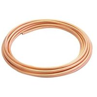 Wednesbury Copper Compression Tube (L)10m (Dia)8mm