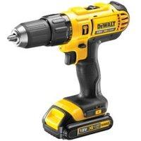 DeWalt XR Cordless 18V 1.3Ah Liion Combi drill 1 battery DCD776C1GB