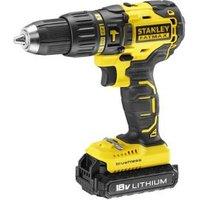 Stanley Fatmax Cordless 18V 2Ah Brushless Hammer drill KFMCD628D1K-GB