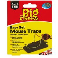 The Big Cheese Mouse trap Pack of 2