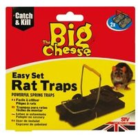 The Big Cheese Rat trap Pack of 2