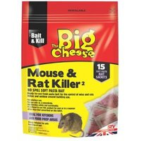 The Big Cheese Rodent bait Pack of 15