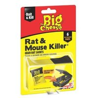 The Big Cheese Rodent bait Pack of 6