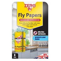 Zero In Fly papers 92g