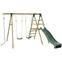 Plum Baboon Climbing Frame and Swing Set