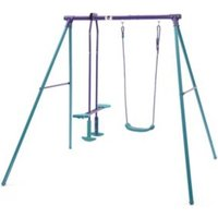 Plum Outdoor Metal Swing & glide set