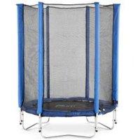 Plum Junior Blue 4.5 ft Trampoline & enclosure