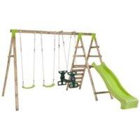 Plum Silverback Wooden Swing Set