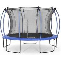 Plum Colours Blue & lime 12ft Trampoline & enclosure