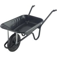 Walsall Endurance Heavy Duty Black 85L Wheelbarrow
