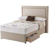 Silentnight Ortho Super king size 2 drawer Divan bed