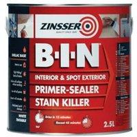 Zinsser B-I-N White Multi-surface Matt Primer 2.5