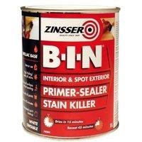 Zinsser B-I-N White Multi-surface Matt Primer 1