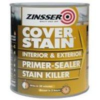 Zinsser Coverstain White Multi-surface Primer & sealer 1L