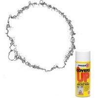 Zinsser Covers up White Matt Sealer Spray paint 400ml