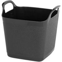 Wham Black Plastic 8L Flexi tub.