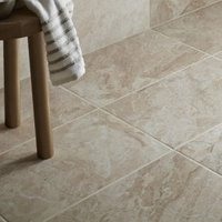 Haver Chalk Stone effect Travertine Ceramic Wall & floor tile  Pack of 6  (L)498mm (W)298mm