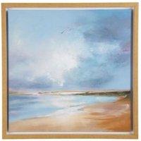 Morning Flight Blue Canvas (W)600mm (H)600mm