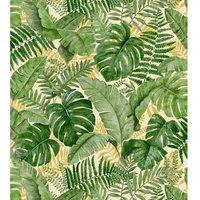 JUNGLE CANOPY GREEN WALLPAPER