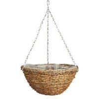 Gardman Spot Rattan Hanging basket 35.56cm