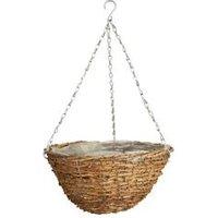 Gardman Faux Rattan Hanging basket 30.48cm
