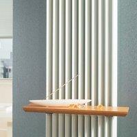 Jaga Beech Effect Radiator Shelf (H)1800mm (W)400mm (D)261mm