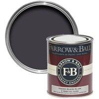 Farrow & Ball Paean black no.294 Gloss Paint 0.75L