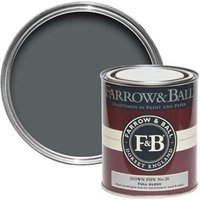 Farrow & Ball Downpipe No.26 Gloss Metal & wood paint 0.75L