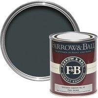 Farrow & Ball Studio Green no.93 Gloss paint 0.75L