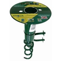 SpyraBase Green Steel Ground anchor (W)50mm