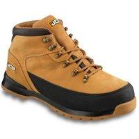 JCB 3CX Honey Safety boots  Size 7