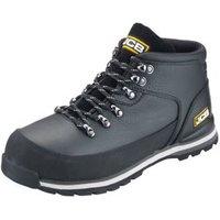 JCB Hiker Black Safety boots  Size 6