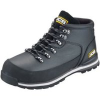 JCB Black Hiker Boots  Size 8