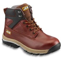 JCB Fast track Brown Safety boots  Size 11