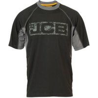 JCB Black Trentham T-Shirt Small