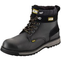 JCB 5CX Black Safety boots  Size 8