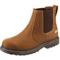 JCB Light tan Agmaster Pro Dealer Boots  size 12