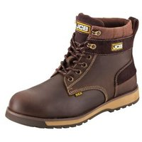 JCB 5CX Brown Safety boots  Size 7
