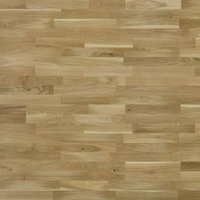 Colours Natural Oak effect Real wood top layer flooring Sample