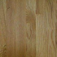 40mm Square edge Solid oak Worktop (L)3m (D)600mm