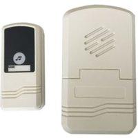 Ivory Battery-powered Door chime kit K10PP