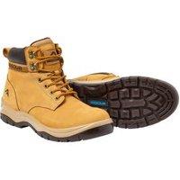 Rigour Wheat Safety Work Boots  Size 8