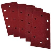 PTX 80 grit Sanding sheet (L)185mm (W)93mm Pack of 5