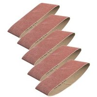 PTX Assorted Sanding belt set (W)100mm (L)610mm Pack of 5