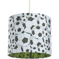 Colours Black & White Football Light Shade (D)25cm